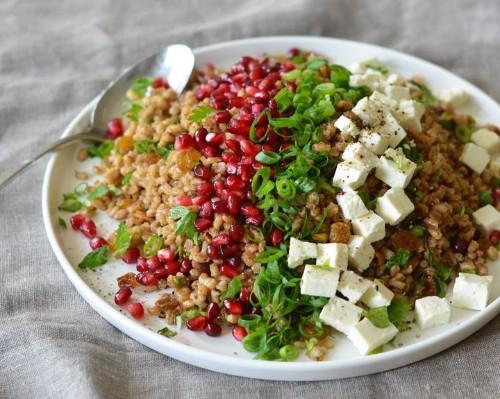 Egyptian Barley Salad To Citrus Slaw: 8 Flavor-Packed Fall Salads | HuffPost Life