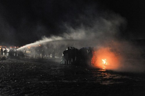 On Thanksgiving Week, Native Americans Are Being Tear-Gassed in North Dakota
