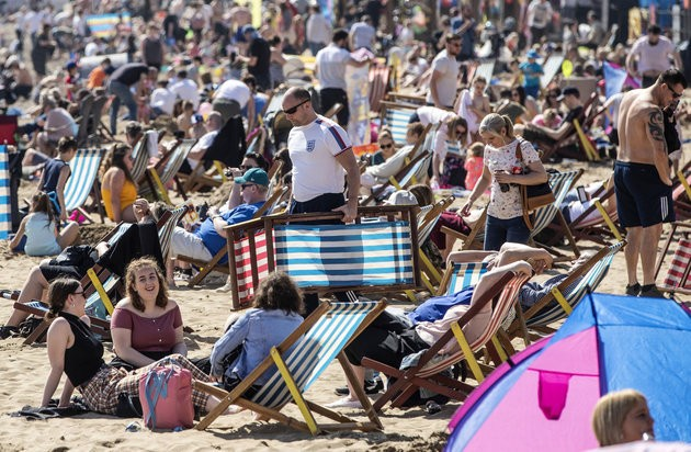 It's Officially The Hottest Day Of The Year As UK Temperatures Beat Majorca Heat