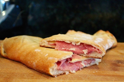 Make an Enormous Salami and Provolone Hot Pocket in 20 Minutes