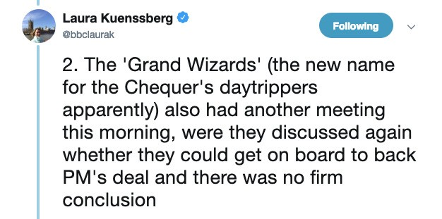 A Group Of Brexiteers Have Been Dubbed The 'Grand Wizards' And Someone Really Should Have Googled It