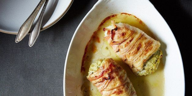 Bacon-Wrapped Fish (Or: Weeknight Surf and Turf)