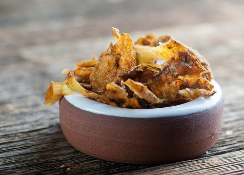 Save Those Potato Peels And Make The Best Homemade Chips | HuffPost Life