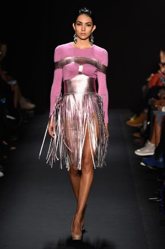 Fringe Is One Of The Biggest Trends Filling The New York Fashion Week Runways