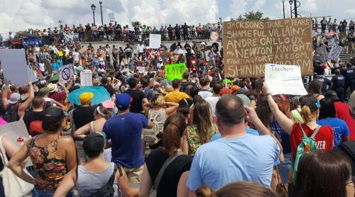 Thousands Protest White Supremacy In New Orleans