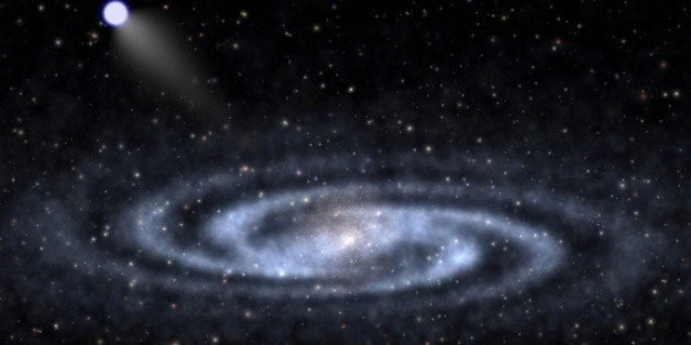 Newfound 'Hypervelocity' Star May Hold Clues About Milky Way's Dark Matter