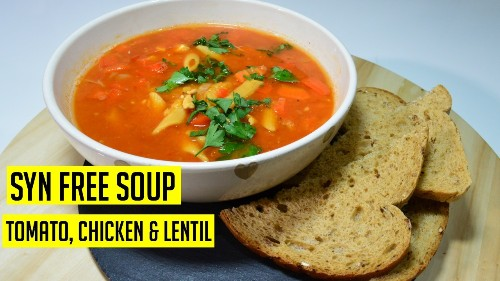 Chicken Tomato Soup | Syn Free | #SlimmingWorld | Indian Recipes | @CookwithAnisa #recipeoftheday