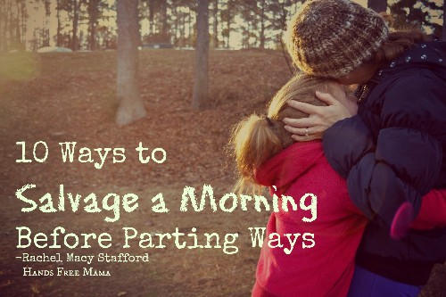 10 Ways to Salvage a Bad Morning Before Parting Ways