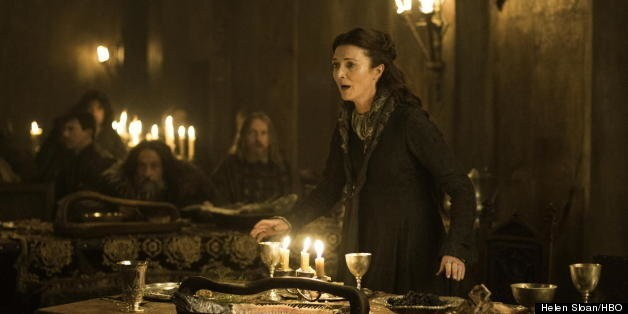 'Game Of Thrones': Behind Catelyn's Death Scene With Michelle Fairley