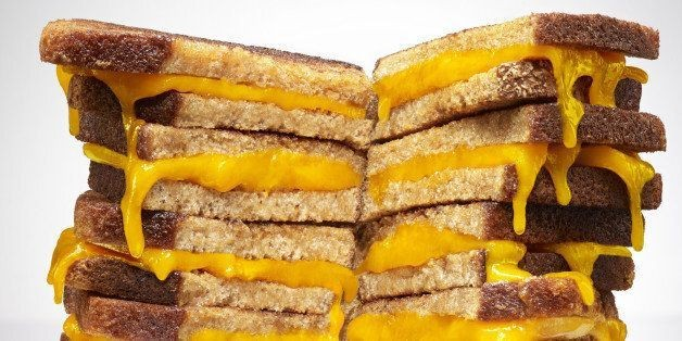 How To Make 10 (Or More) Grilled Cheese Sandwiches At Once | HuffPost Life