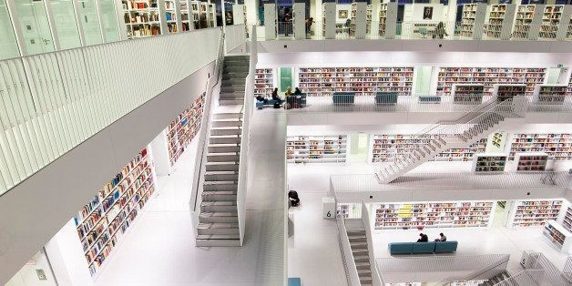 The World Without Libraries: A Speculation
