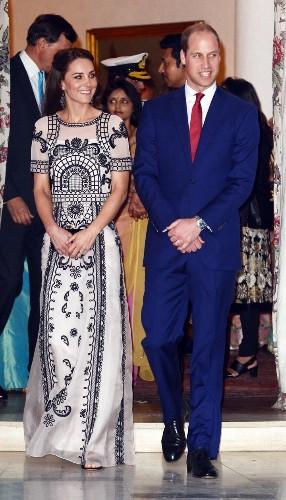 Catherine, Duchess Of Cambridge Just Wore The Fanciest Crop Top Ever