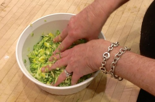 Massaging Your Brussels Sprouts Will Make Them Way Better. Really.