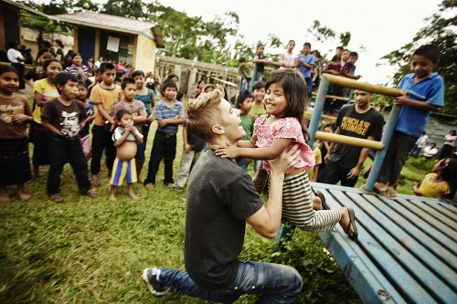 In Guatemala With Justin Bieber