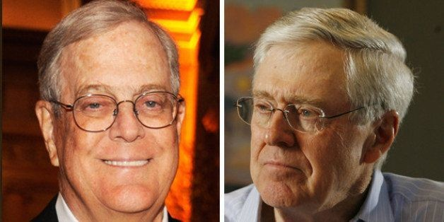 The Koch Brothers' Election Funding Magic Trick