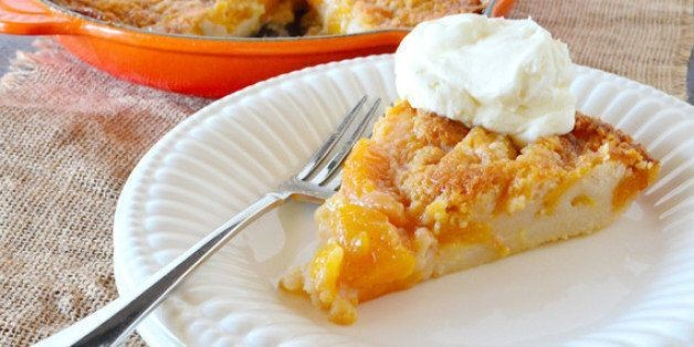 Peachy Skillet Peach Cobbler Just for You | HuffPost Life
