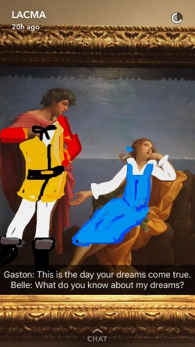 Your Favorite Disney Fairy Tales Are Being Retold Through Classic Paintings