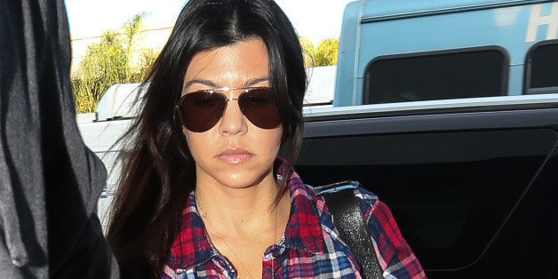 Kourtney Kardashian Blasts Airline Passenger Who Told Kids To Cover Their Mouths