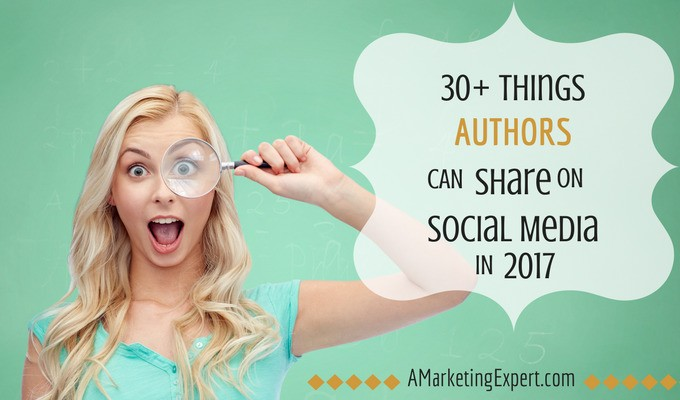 30+ Things Authors can Share on Social Media