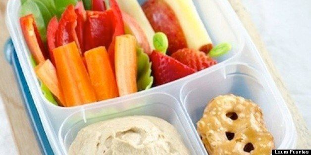 School Lunch Project: The Hummus Tray