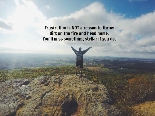 Why Frustration Is Fantastic and How to Own It
