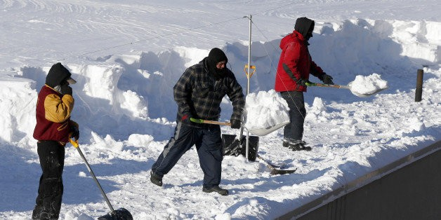 Snow Won't Stop These New England Churches From Soldiering On
