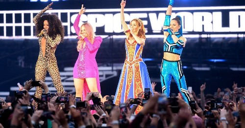 Spice Girls Tour Kicks Off In Ireland With 23 Songs, 24 Costume Changes And 75,000 Screaming Fans (Including The Irish Premier)