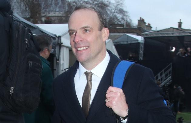 Dominic Raab Blocks James O'Brien On Twitter Over 'Loony Left Anti-Brexit Rants'