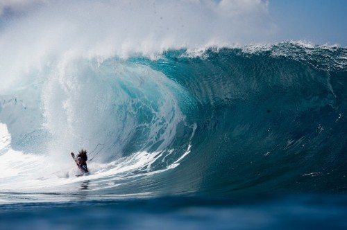 Watch Surfers Get Demolished On The Sport's Most Beautiful And Dangerous Wave