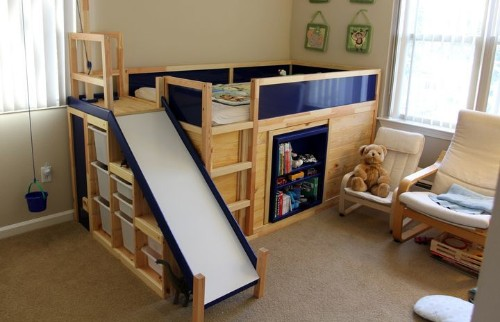 One Dad Hacked Ikea To Make The Ultimate Kids' Bed On The Cheap | HuffPost Life