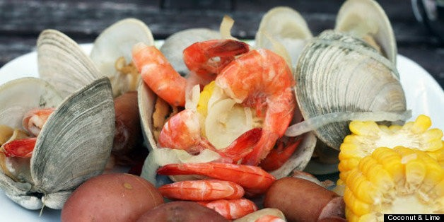 Clambake On The Grill (RECIPE) | HuffPost Life