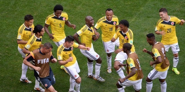 Colombia Just Danced Its Way To The Top Of The World Cup Goal Celebration Standings (GIFs)