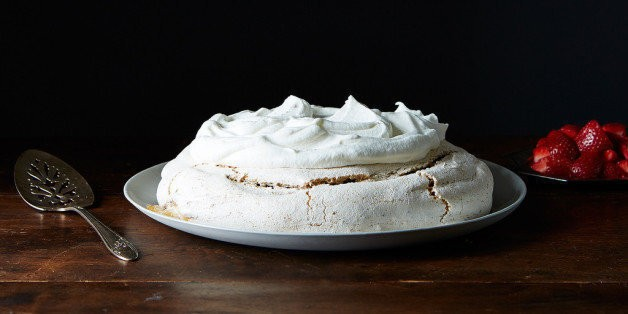 A Sweet and Crunchy Peanut Butter Pavlova | HuffPost Life