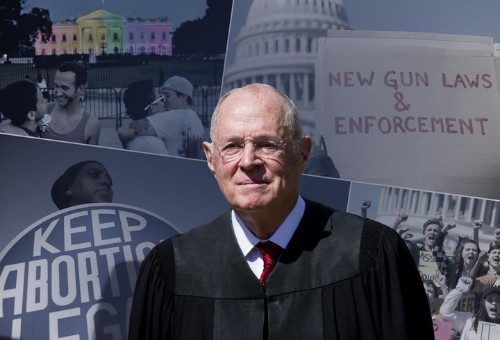 Justice Anthony Kennedy's Retirement Puts Key Issues On The Line