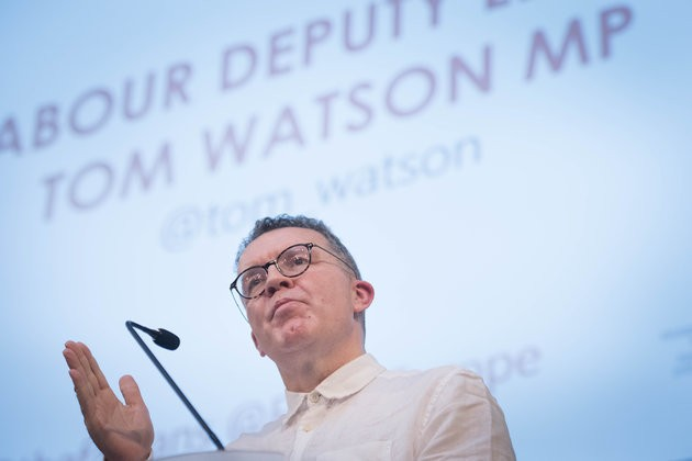 Tom Watson Could Back Theresa May's Brexit Deal If She Offers Second Referendum