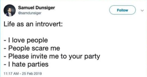 16 Tweets That Speak The Truth About Being An Introvert