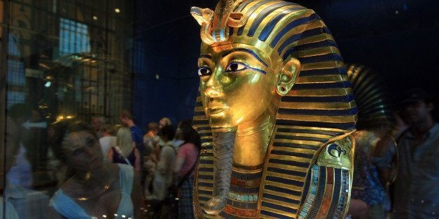 King Tut's Mask Damaged; Beard Snapped Off During Botched Cleaning