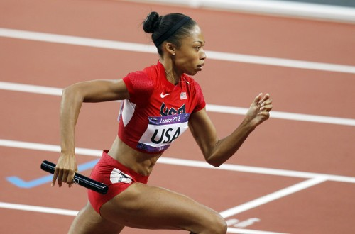 Sprinting Legend Allyson Felix Shares Four Ways To Kick Up Your Workouts