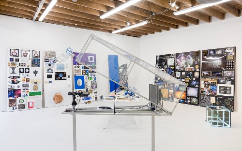 Marc Fichou's Playful Installation At Chimento Contemporary
