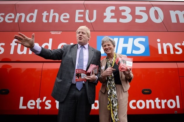 Boris Johnson And Vote Leave Slapped Down For 'Misleading' Voters About Cost Of EU Membership