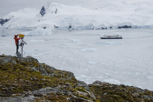 Rounding the Tip of the Antarctic Peninsula