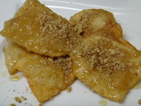 Xerotigana: Mykonos' Honey Fried Dough Strips