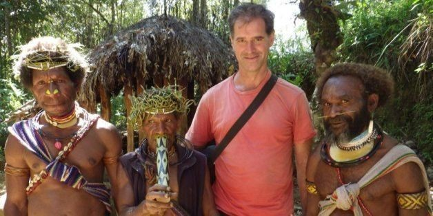 'World's Most Traveled' Man, Mike Spencer Bown, Heads Home After 23-Year Journey | HuffPost Life