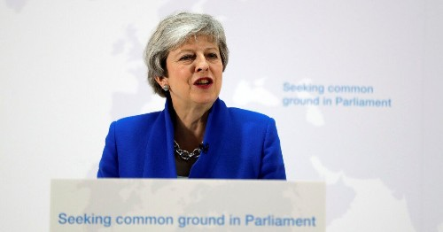 Theresa May's Brexit Offer Immediately Rejected By MPs Across The Divide