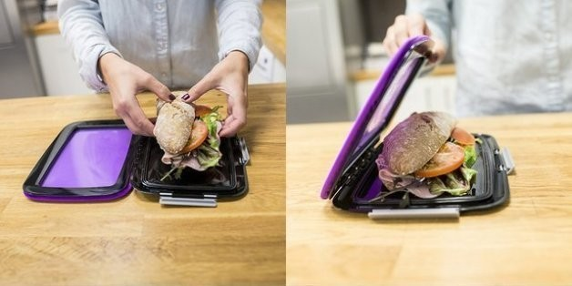 Foodskin Flexible Lunchbox: Save Your Sandwiches | HuffPost Life