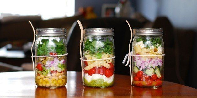 These Mason Jar Salads Are Your New Go-To Lunch | HuffPost Life