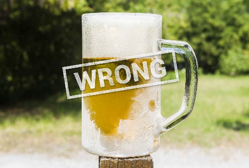 The 5 Biggest Mistakes You're Making With Your Beer