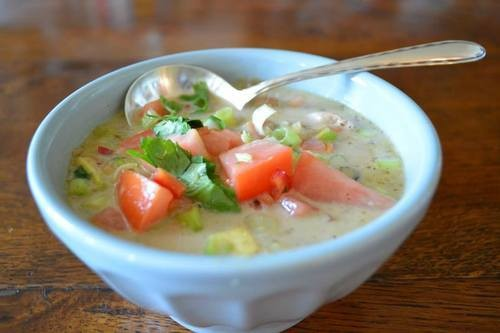 Thai Mexican Chicken Soup