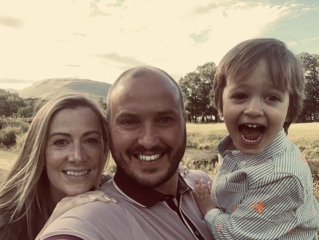 Rachael Bland's Widow Steve Says Running The London Marathon In Her Memory Is Helping Him Through The Grief