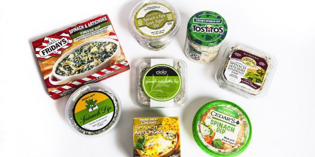 Taste Test: The Best And Worst Store-Bought Spinach Dips